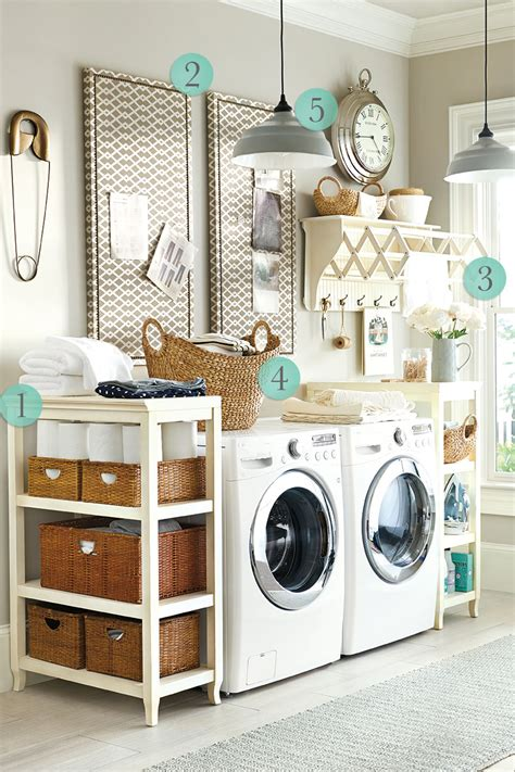 5 Laundry Room Decorating Ideas How To Decorate Decor For Laundry Room