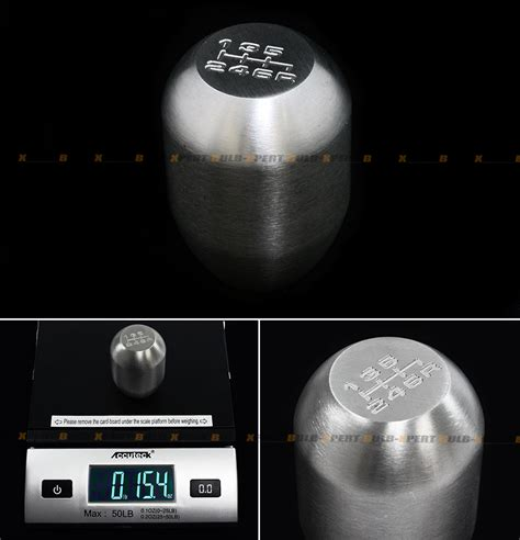 350z Weighted Shift Knob 435g heavy weighted 6 speed steel jdm shift knob for 350z