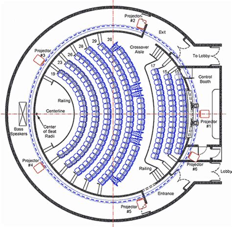 planetarium floor plan museum planners and producers white oak associates theater planning and implementation