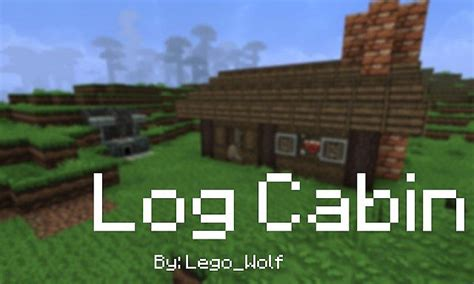 Cool Minecraft Cabins by Colonial Style Log Cabin Minecraft Project
