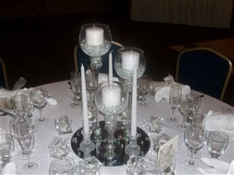 25th anniversary centerpiece ideas wedding flowers reception white centerpiece silver