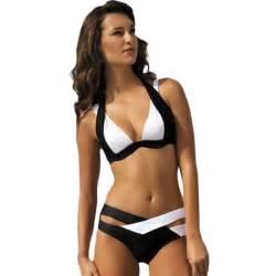 maillots de bain femme soldes eozy femme push up maillot de bain noir et blanc achat vente maillot de bain