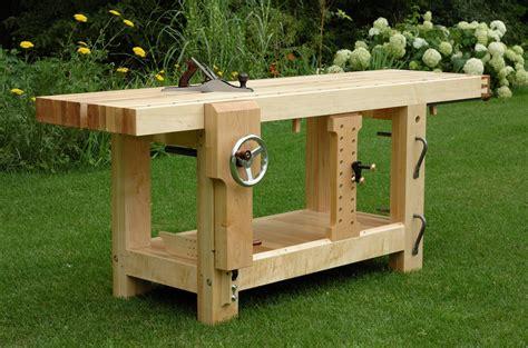 benchcrafted split top roubo begins  wood whisperer