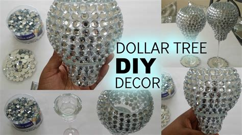 decorative paper dollar tree diy dollar tree bling candle holders youtube