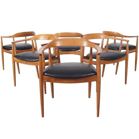 danish modern dining room chairs danish modern dining chairs by niels eilersen at 1stdibs
