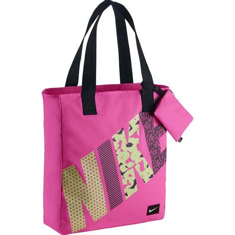 Nike Tote Bag nike rowena tote bag pink pow black tennisnuts