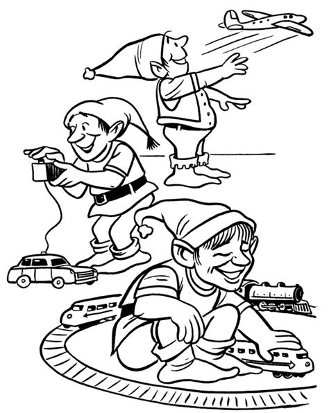 coloring pictures of santa workshop free coloring pages of workshop