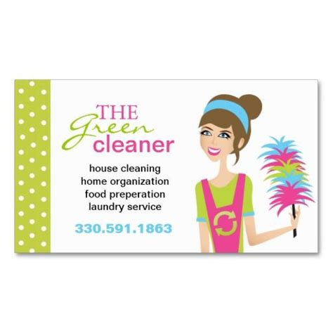 cleaning card template 198 best images about services business cards on
