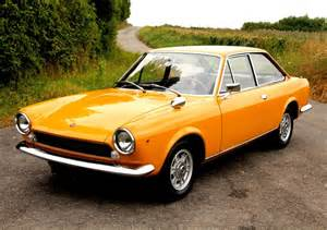 Fiat 124 Coupe Compact Sports Cars Of Yore