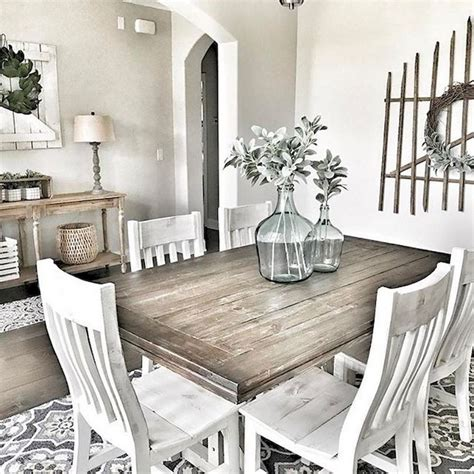 modern french country dining room furnitrue decor ideas