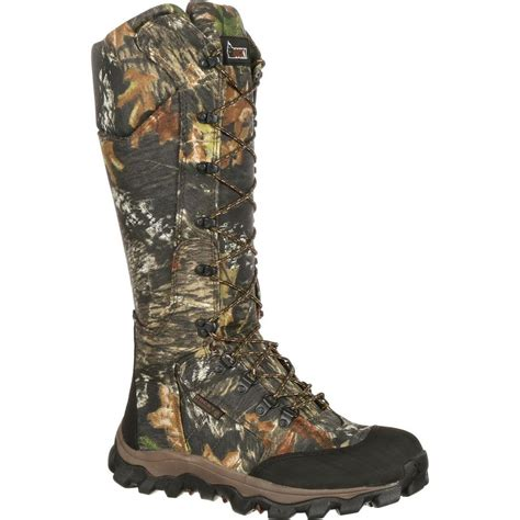 snake proof boots for rocky fq0007379 lynx waterproof snake proof camo