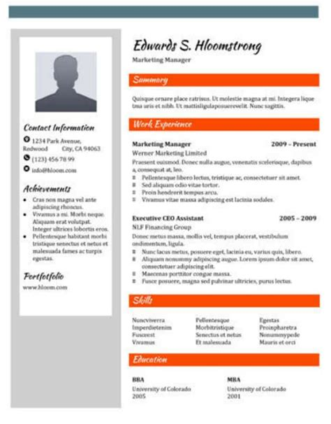 29 Google Docs Resume Template To Ace Your Next Interview Advertisement Template Docs