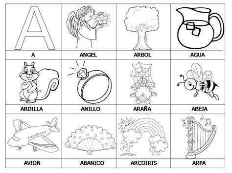 Imagenes Para Colorear Que Empiecen Con La Letra D | objetos que empiecen con la letra a para recortar imagui