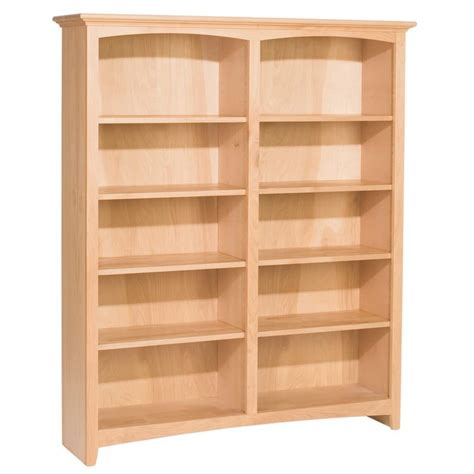 Whittier Wood Mckenzie Bookcase Collection 48 Wide 60 Wide Bookshelves