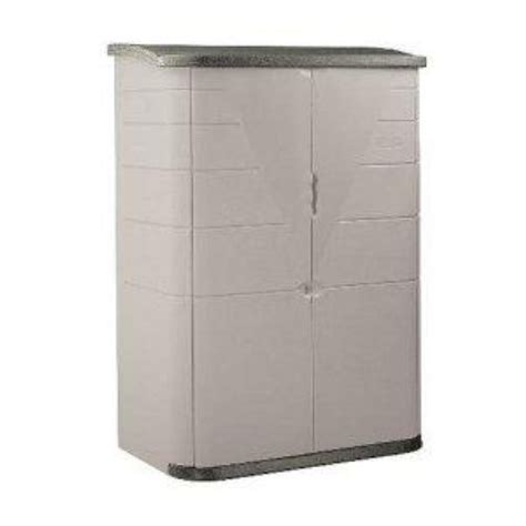 Rubbermaid Storage Shed Parts by Rubbermaid 3746 Vertical Storage Shed 52 Cu Ft 445 99 Ebay