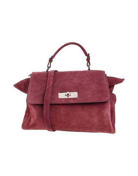Giorgio Armani Handbag Big Size lyst giorgio armani handbag in purple