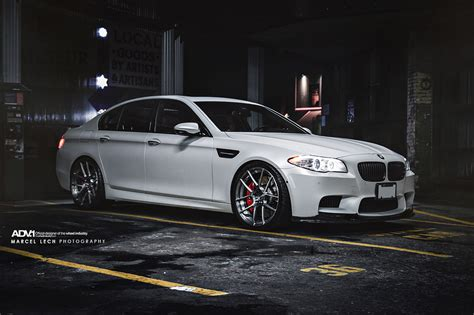 custom bmw m5 frozen white bmw m5 by marcel lech photography