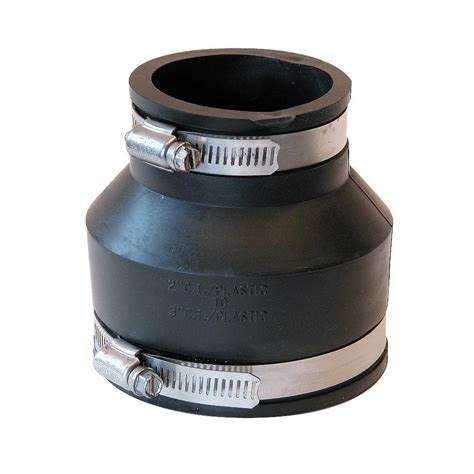 Plumbing Coupling by Fernco Pipes Fittings Plumbing The Home Depot