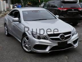 mercedes e250 coupe amg sport new