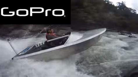 mini jet boat thomas hewitt gopro jetboat sinks again youtube