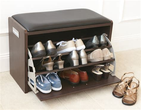 entrance shoe rack shoe storage in the entry stylish shelving idea homesfeed
