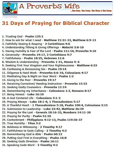 the 31 day workforce turnaround one month to a happier you and a more productive crew books 31 days of praying for biblical character