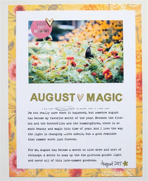 Creative Manifesto By Ali Edwards by Ali Edwards Design Inc Ae Creative Team August
