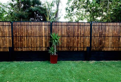 backyard bamboo fencing bamboo fencing garden roof fence futons make a