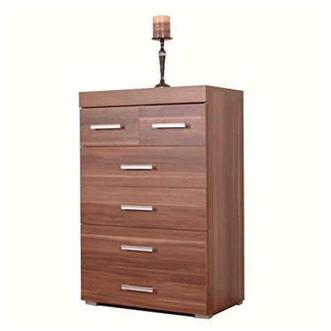 walnut effect bedroom furniture chest of drawers search furniture