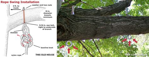 how to hang tree swing turn an old chair into a beautiful swing big fuel garage