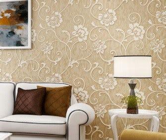 tips memilih wallpaper dinding  ruang tamu