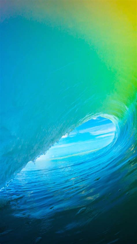 ios wallpaper hd iphone 6 ios 9 colorful surf wave iphone 6 hd wallpaper iphone