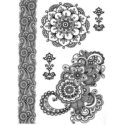 tattoo mandala dentelle tatouage temporaire et 233 ph 233 m 232 re dentelle mandalat et bracelet
