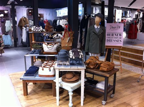 display tables for boutique topshop winter table merchandising vm creative