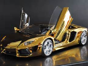 The Coolest Lamborghini In The World Golden And Gem Covered Lamborghini Is The World S