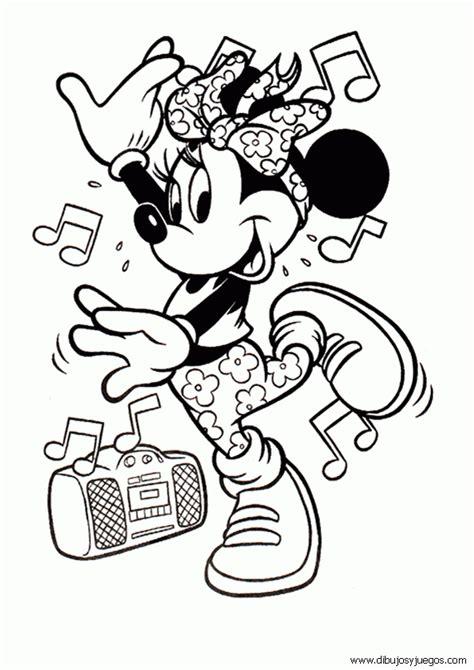 dibujos para colorear de minnie mouse