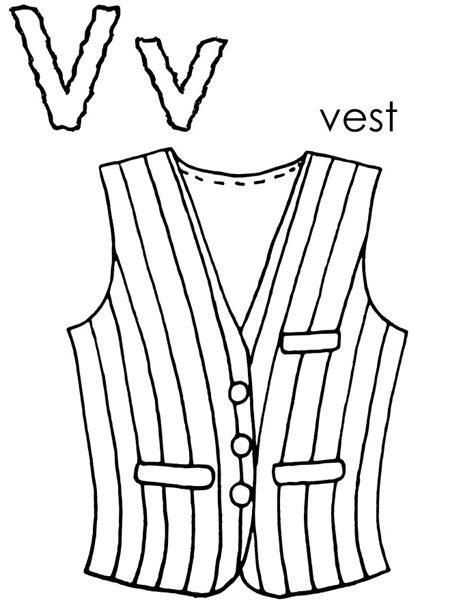 printable vest template new waitress vest for women colouring pages picolour