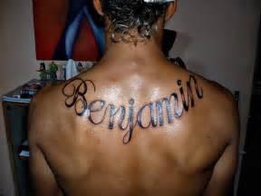 imagenes de tatuajes de nombres en la espalda tatuajes de nombres en la espalda tatuajes imagen