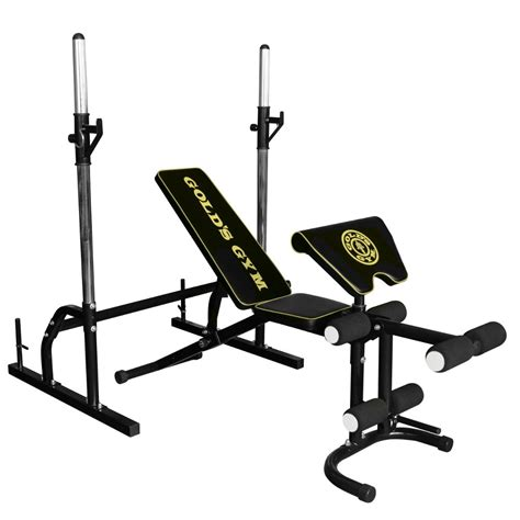 golds gym bench press golds gym deluxe bench twinti