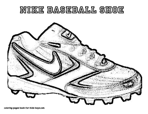 nike football coloring page nike coloring pages coloring home