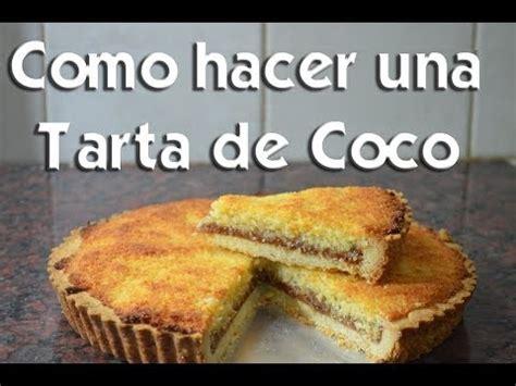 como hacer una tarta de coco