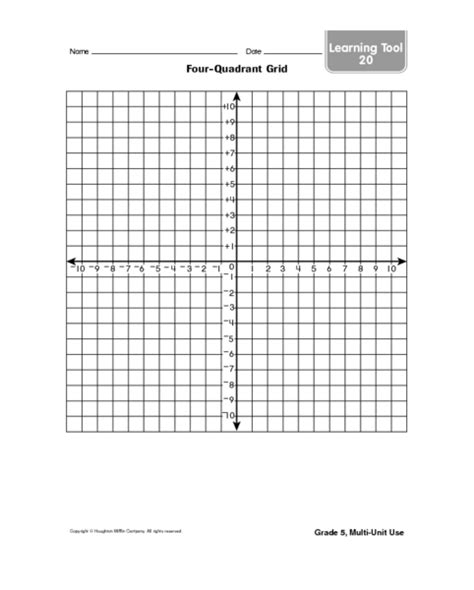 printable quadrant graphs common worksheets 187 coordinate graph printable preschool