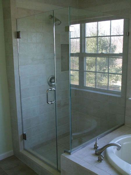 Shower Doors Maryland Maryland Shower Enclosures Frameless 90 Degree Corner