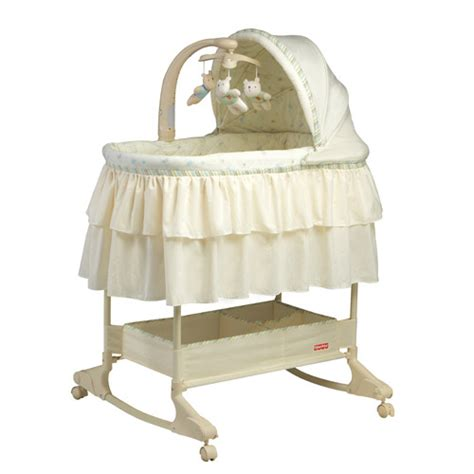 Green Crib Bedding Fisher Price Nursery Big Hugs Rocking Bassinet Reviews