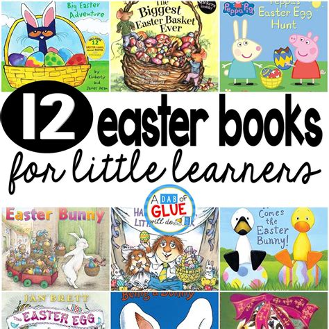 that grand easter day books 12 easter books for learners a dab of glue will do