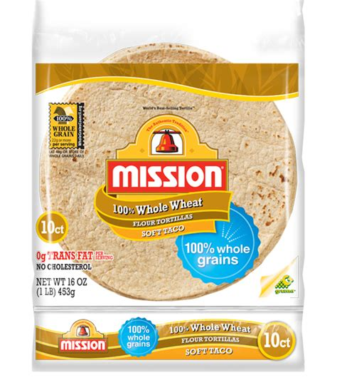 whole grain 100 calorie wrap products mission foods