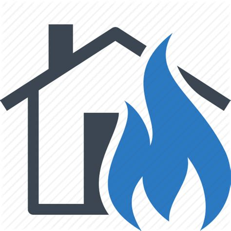 house fire insurance fire flame home insurance house icon icon search engine