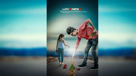 Photoshop Poster Design Youtube | loveness creative photo manipulation best photoshop