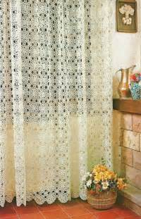 Paper Curtains Diy The Crochet Curtains Curtains With Charm Of Covers Home