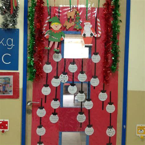 Weihnachtsdekoration Klassenzimmer by Spoonfuls Of Kindergarten December 2013